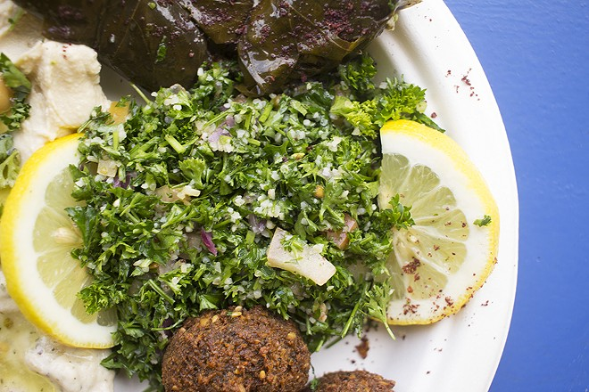 Tabbouleh is a fresh cold appetizer option. - MABEL SUEN