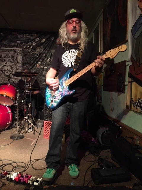 J Mascis feelin' it - PHOTO BY JAIME LEES