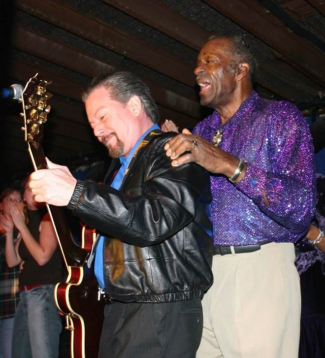 Billy Peek and Chuck Berry - VIOLET SHAW OMAN
