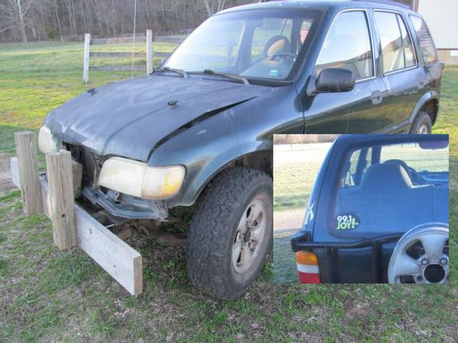 Won't you please give this poor abused vehicle a loving home? - PHOTO VIA CRAIGSLIST