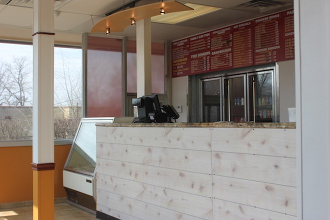 A revamped interior offers an upgrade from the old Jack in the Box experience. - PHOTO BY SARAH FENSKE