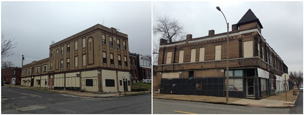Buildings at the Chippewa California intersection are slated for major renovations. - PHOTOS BY DOYLE MURPHY