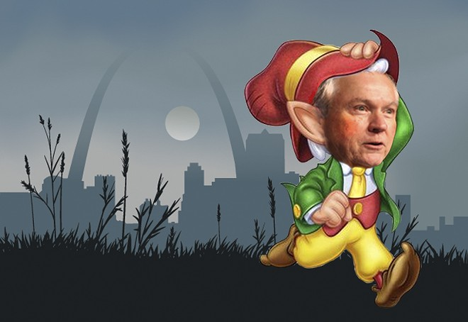 Half-pint has arrived in the Gateway City. - RFT ILLUSTRATION