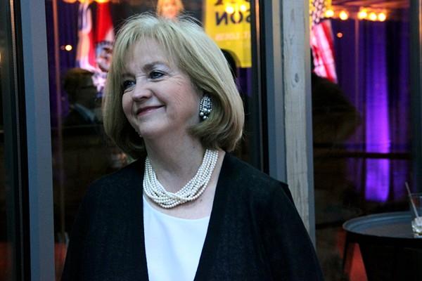 Lyda Krewson, St. Louis' first female mayor. - PHOTO BY DANNY WICENTOWSKI
