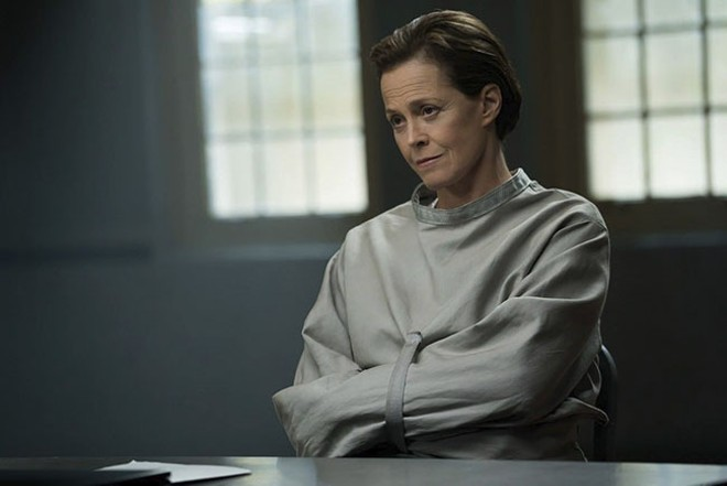 Sigourney Weaver plays the Hannibal Lecter character. - SBS ​FILMS