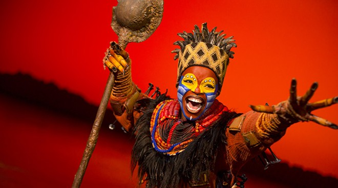 Disney's The Lion King comes to St. Louis this week. - MATTHEW MURPHY