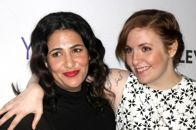 Lena Dunham, right, and Jenni Konner are taking Lenny Letter on the road. - KATHY HUTCHINS / SHUTTERSTOCK.COM