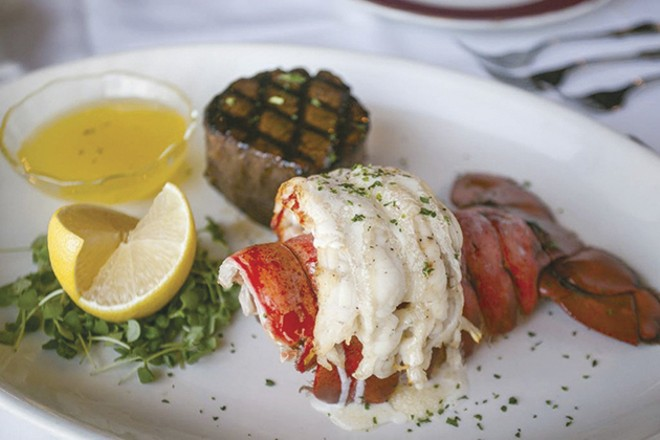 Kemoll's: readers' choice for most romantic. - COURTESY OF KEMOLL'S