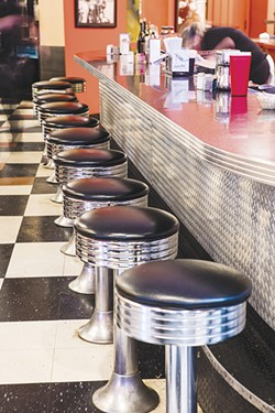 City Diner: readers' choice for best diner. - PHOTO BY ERIC FRAZIER