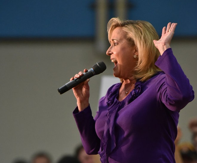Ann Wagner in a rare public appearance. (Get this: she was stumping for Ted Cruz.) - SHUTTERSTOCK/MARTIN HAAS