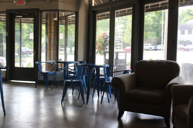 Cozy chairs or cafe-style tables allow room for hanging out. - PHOTO BY SARAH FENSKE