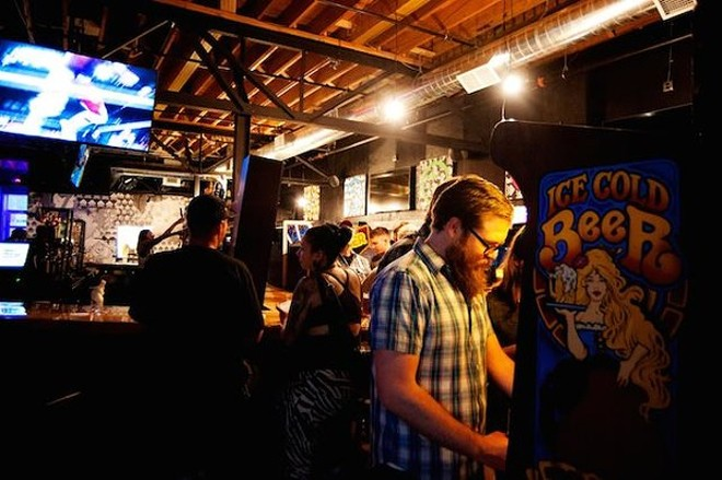 Patrons enjoy Up-Down's Minneapolis location. - BETSY RUDICIL/COURTESY OF UP-DOWN ARCADE BAR