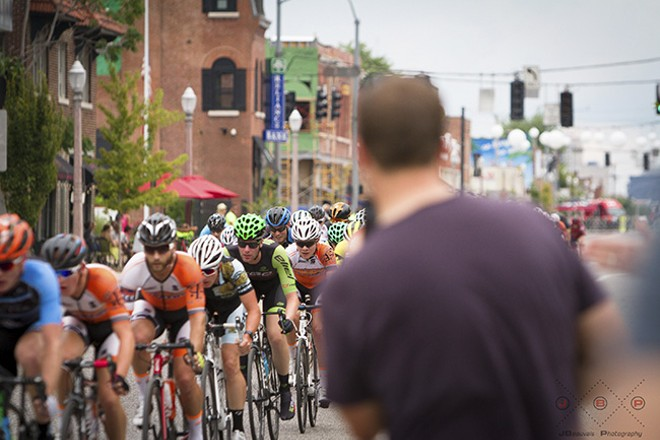 The Grove Criterium brings cyclists to the heart of the city. - JAY BEAUVAIS PHOTOGRAPHY