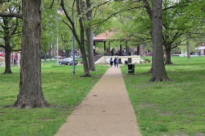 Gravois Park. - PHOTO COURTESY OF FLICKR / PAUL SABLEMAN.