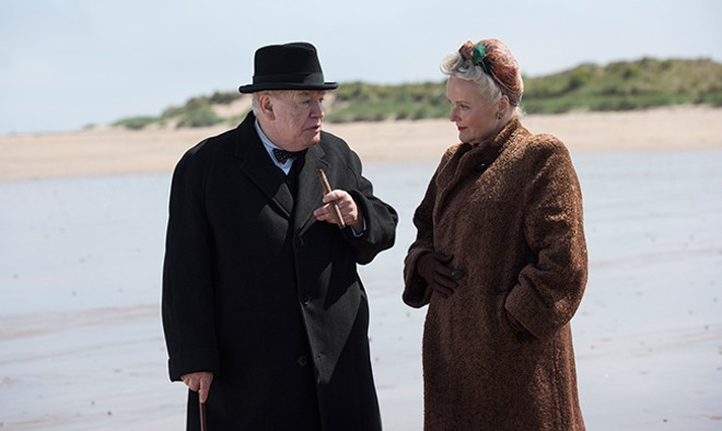 Miranda Richardson plays Churchill's infinitely patient wife Clementine. - COURTESY OF COHEN MEDIA GROUP