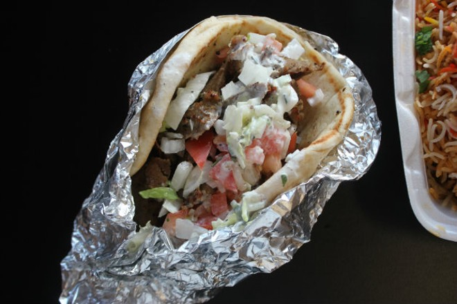 Many say that Mideast Market's gyro is the best in town. - CHERYL BAEHR
