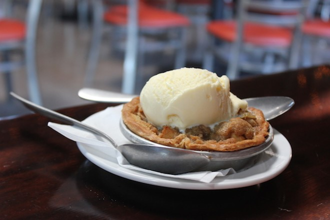 Apple pie, a la mode of course. - PHOTO BY SARAH FENSKE