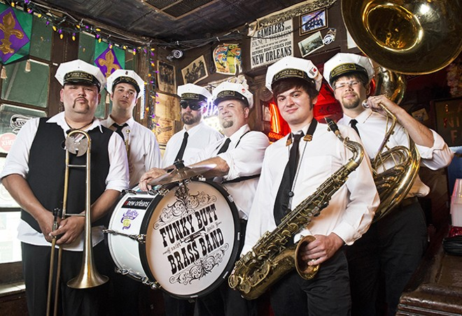 Funky Butt Brass Band may sound like New Orleans, but its spirit is all St. Louis - COREY WOODRUFF