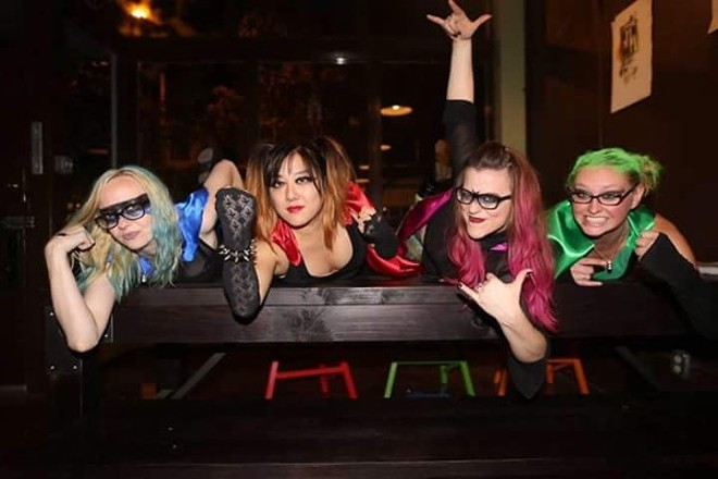 The Vigilettes reference the pep and aggression of '90s-era alternative rock. - PHOTO COURTESY OF THE BAND