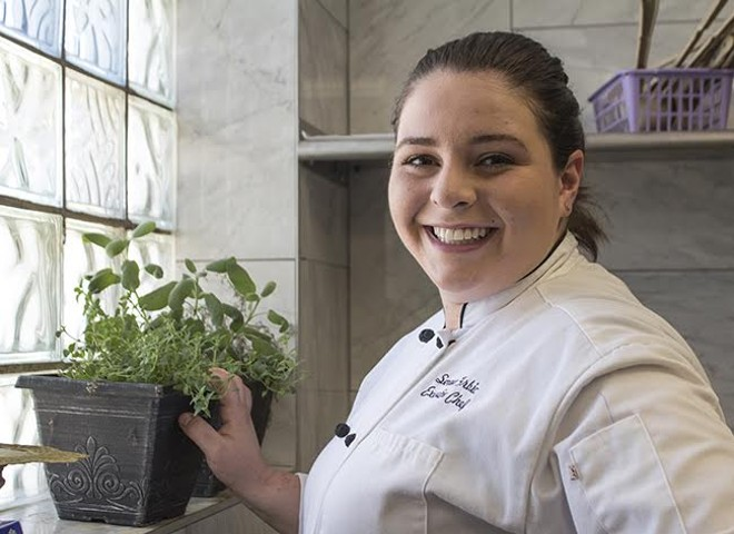Lemmons' Senada Grbic was destined to become a chef. - SARA BANNOURA