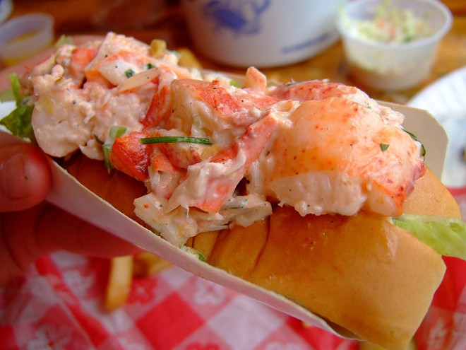 A Maine-style lobster roll is just one of 50 delicacies on offer at Flavor Nation. - PHOTO COURTESY OF FLICKR/YOSOYNUTS