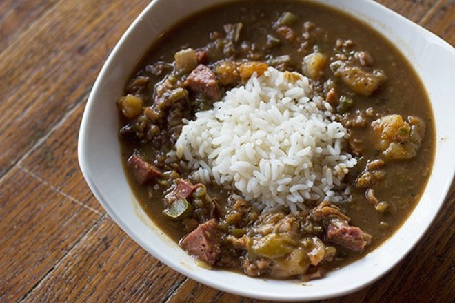 Sister Cities' gumbo is again on offer, with the restaurant opening in a larger new location in Marine Ville. - PHOTO BY MABEL SUEN