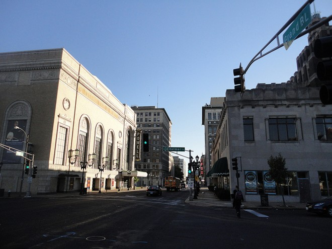 Grand Center recently hosted a theatre crawl — but most of the city missed it. - PHOTO COURTESY OF FLICKR/PAUL SABLEMAN