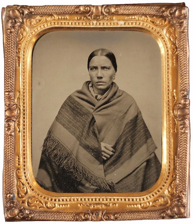 Elizabeth Wohlman's police file photo, taken in 1861. Text adapted from Captured and Exposed: The First Police Rogues' Gallery in America, by Shayne Davidson. - PHOTOS COURTESY OF THE MISSOURI HISTORY MUSEUM