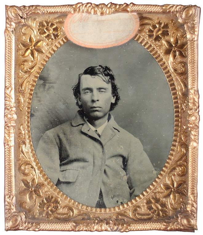 "Dave Marshal, a suspected ""moll buzzer,"" or thief who pickpockets or steals women's purses. Text adapted from Captured and Exposed: The First Police Rogues' Gallery in America by Shayne Davidson. - PHOTO COURTESY OF THE MISSOURI HISTORY MUSEUM"