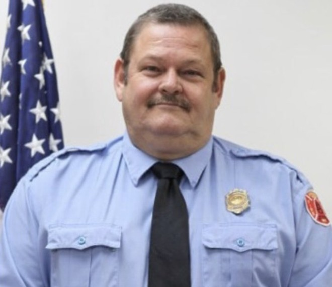 St. Louis Fire Capt. John Kemper has died from injuries sustained during a July 5 fire. - IMAGE VIA ST. LOUIS FIRE DEPARTMENT