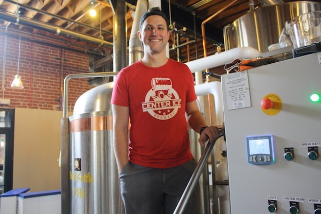Steve Albers' new Midtown brewery has its grand opening Friday. - PHOTO BY BILL LOELLKE