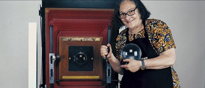 Elsa Dorfman's medium was Polaroids: 20x24 portraits. - COURTESY OF NEON