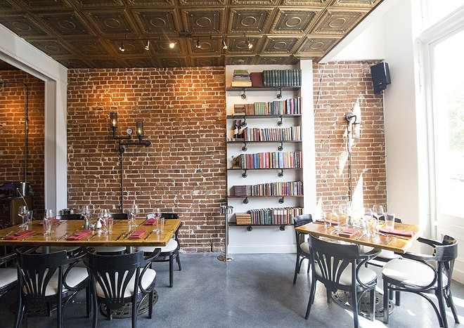 Dining at Polite Society feels like dining in a posh Lafayette Square home. - MABEL SUEN