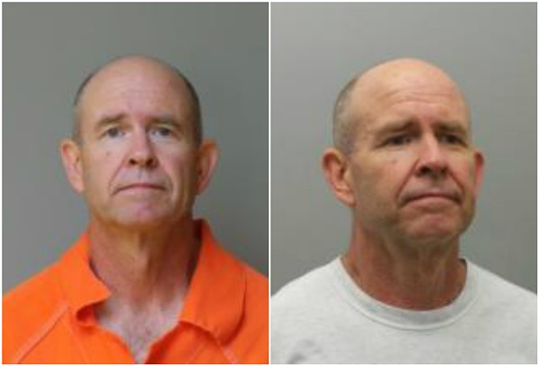 Florissant city hall janitor Ronald Pixley was accused of taking up-skirt photos of female employees. - IMAGES VIA FLORISSANT AND ST. LOUIS COUNTY POLICE