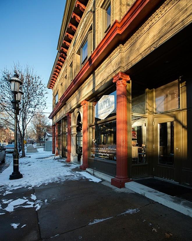 Juniper first opened its doors on Boyle Avenue in 2013. - PHOTO BY JENNIFER SILVERBERG