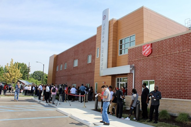 The Urban League's new community center — a first-of-its-kind partnership, had its grand opening today. - PHOTO BY QUINN WILSON