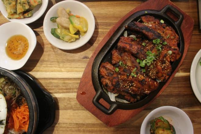 Kalbi, or Korean-style short ribs. - CHERYL BAEHR