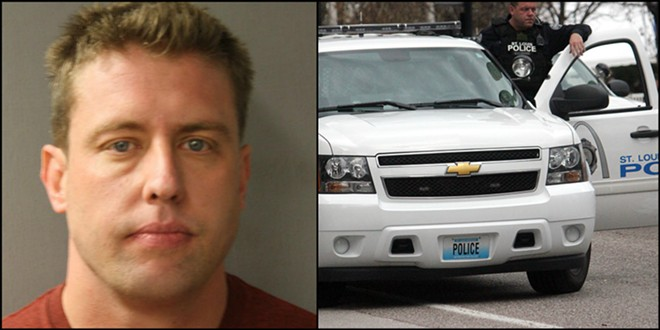 Charged with Murder in 2016, ex-St. Louis Cop Jason Stockley was involved in a 2011 street pursuit that ended with him killing a suspect. - PHOTO VIA HARRIS COUNTY TEXAS SHERIFF'S OFFICE/DANNY WICENTOWSKI