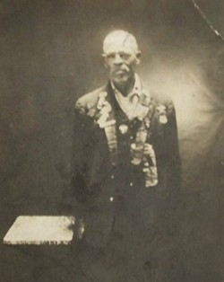 John Lyle Wilson (pictured) was a slave in the western edge of Virginia. - PHOTO COURTESY OF B. ROBERT WILSON