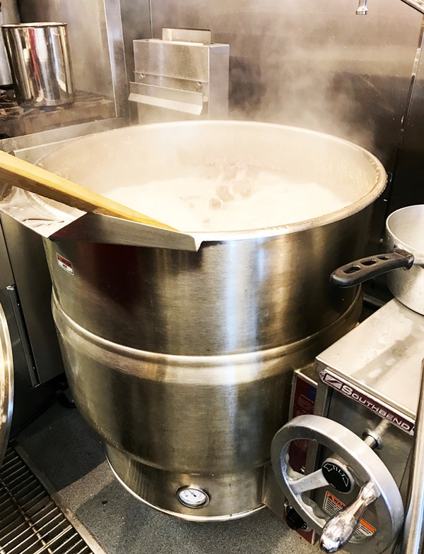 BROTH VAT | SARA GRAHAM