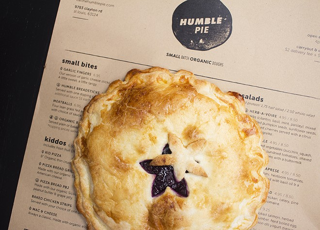 Pies, meant to serve one or two guests, are offered in flavors such as blueberry lemon and vegan Mexican chocolate. - PHOTO BY MABEL SUEN
