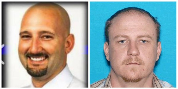 Officer Gary Michael Jr., left, was killed at a routine traffic stop. Ian McCarthy, right, is now in custody.