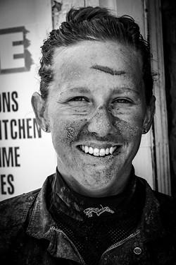 Brooke Stillion is a rarity: a female jockey. - PHOTO BY ZIA NIZAMI