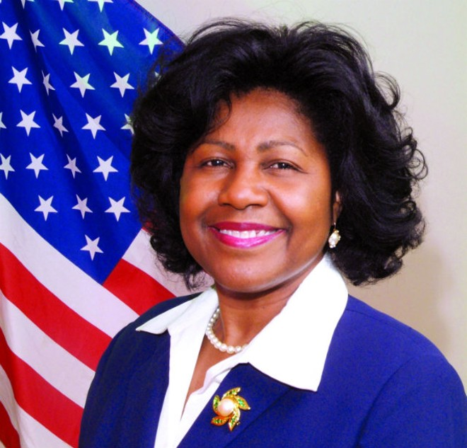 City Comptroller Darlene Green.