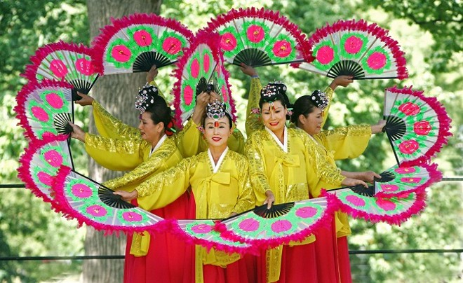The Festival of Nations brings the world to Tower Grove Park. - COURTESY INTERNATIONAL INSTITUTE SAINT LOUIS