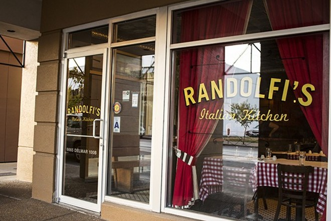 Randolfi's Italian Kitchen will close after dinner service on Saturday, September 9. - MABEL SUEN