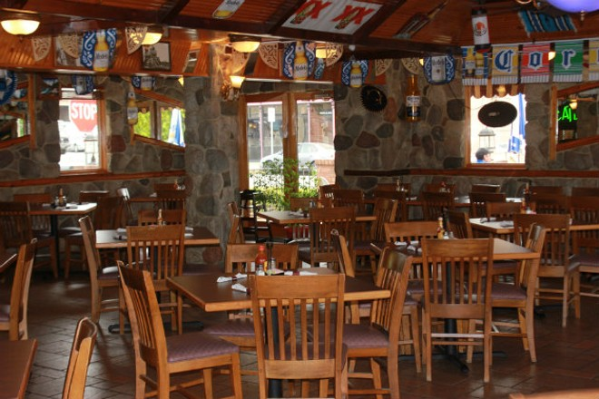 The dining room at Salinas 2 is large and festive. - CHERYL BAEHR