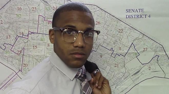 Ward 21 Alderman John Collins-Muhammad. - VIA YOUTUBE