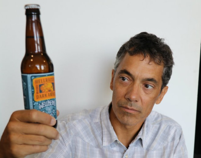 Founder Jeff Stevens is taking craft beer in a non-alcoholic direction. - PHOTO COURTESY OF WELLBEING BREWING