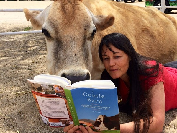 Ellie Laks-Weiner has always loved animals. - PHOTO COURTESY OF ELLIE LAKS-WEINER